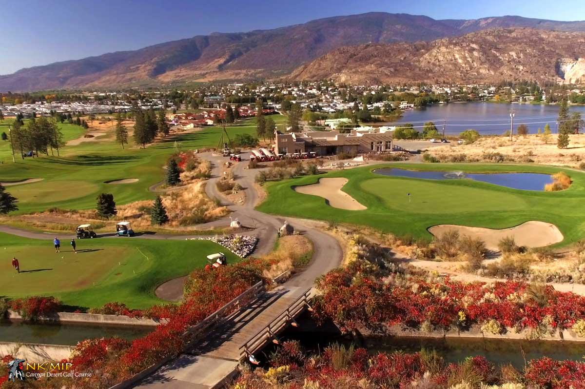 Spectacular (Inkameep) NK'Mip Canyon Desert Golf Course